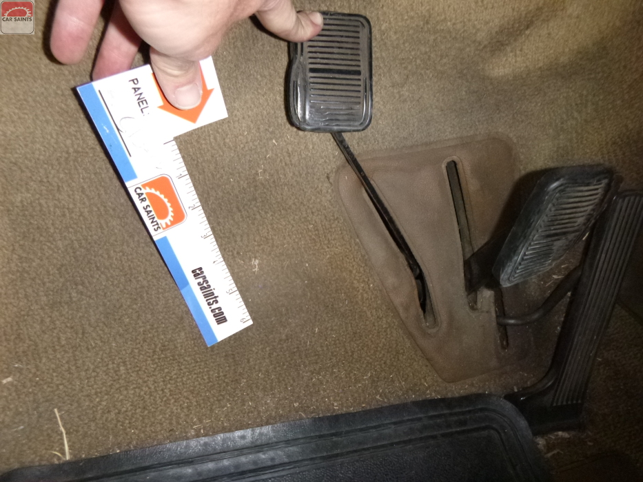 clutch pedal falls to the floor
