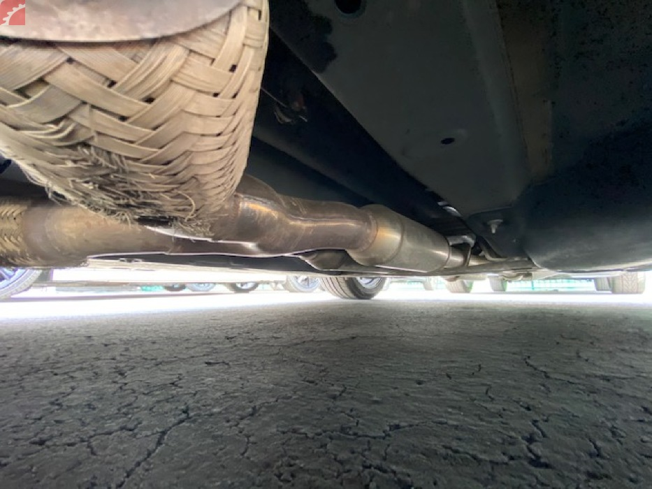 EXHAUST BOTTOM OUT DAMAGE