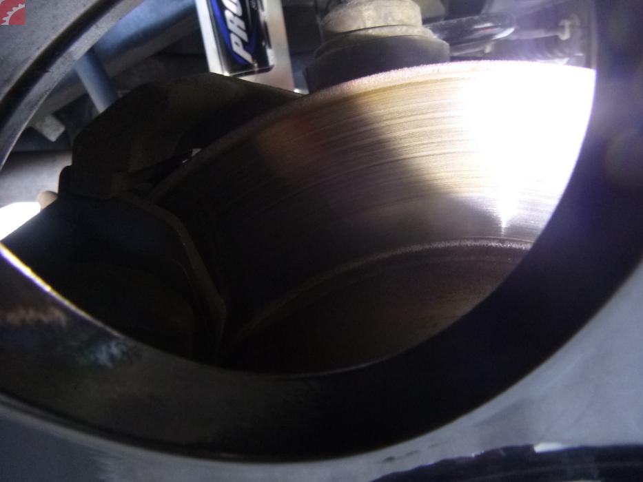 rotors warped
