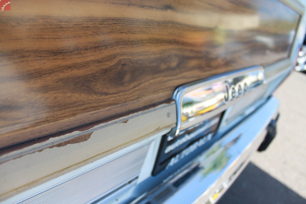 EXTERIOR TRIM IS FLAKING OFF