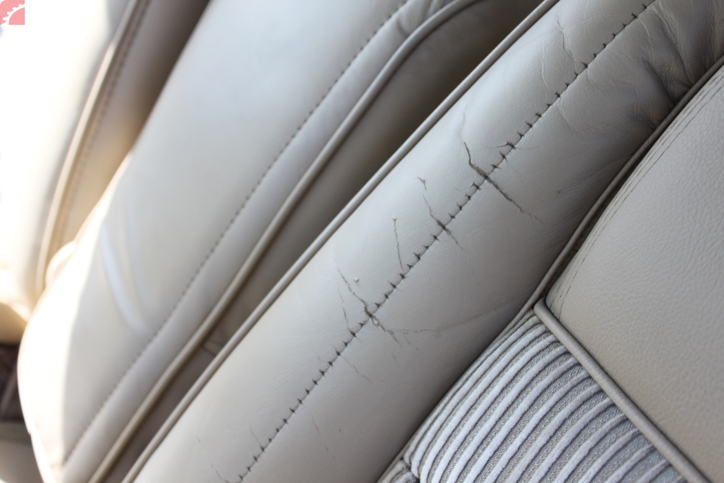 LEATHER SEATS ARE CRACKING