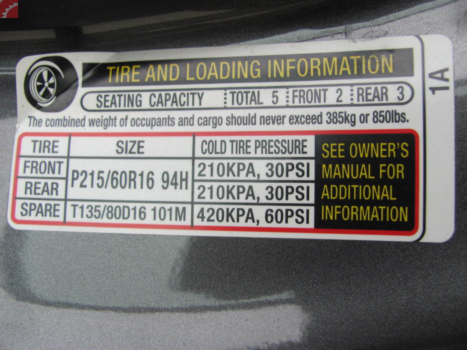 TIRE STICKER