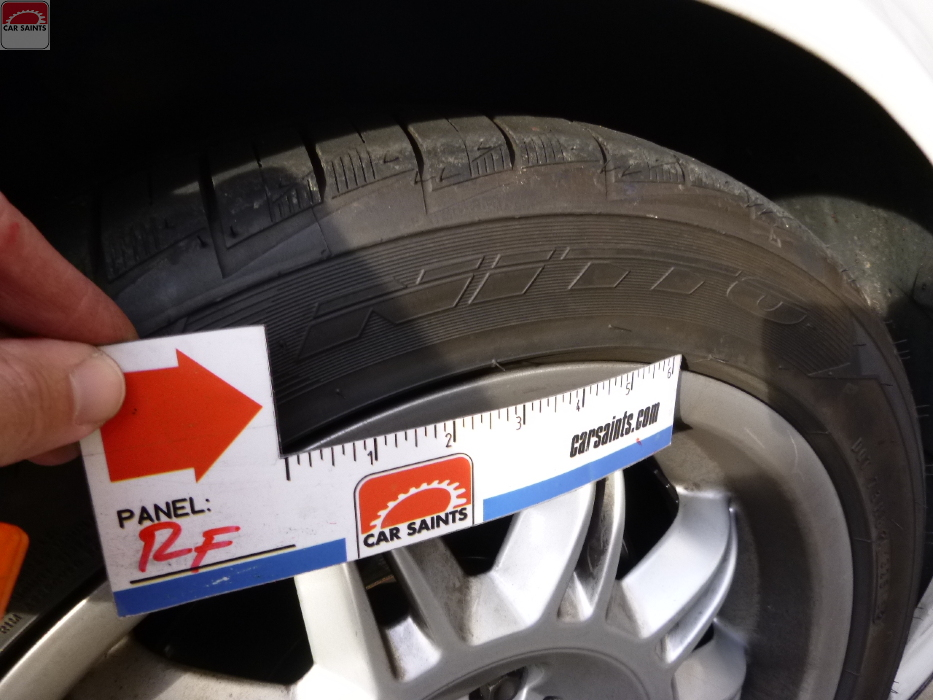 right front tire mismatched brand from rear