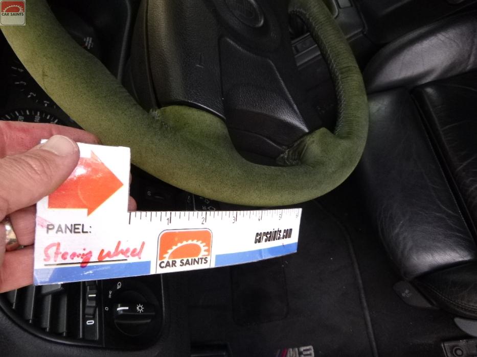 steering wheel faded