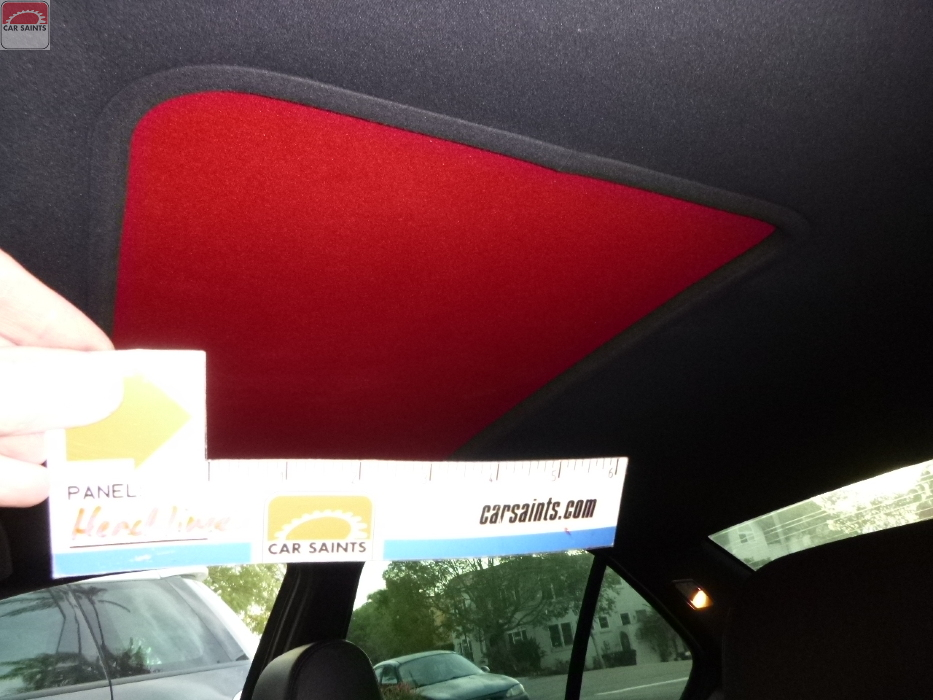 sunroof cloth mismatched color