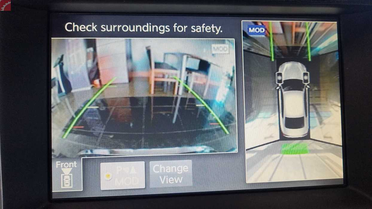 REAR BACK UP CAMERA ASSIST