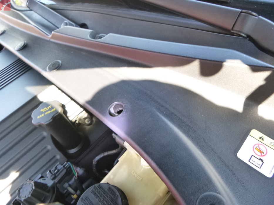 COWEL COVER TRIM HARDWARE MISSING