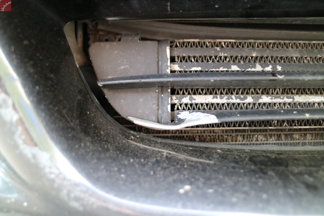 FRONT BUMPER TRIM DAMAGED