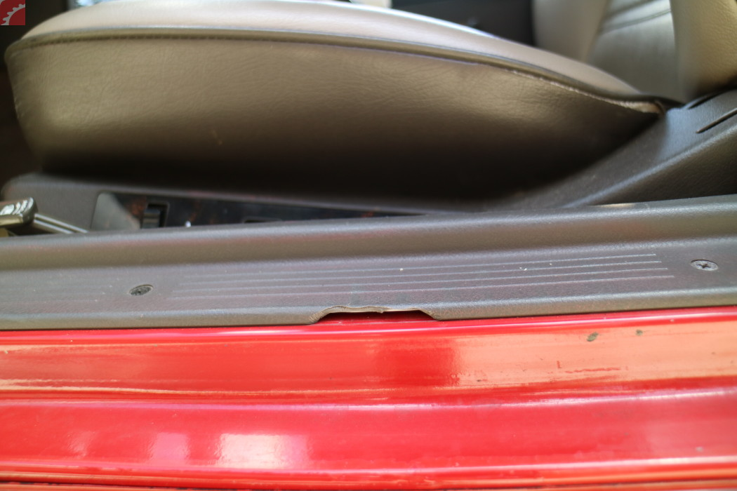 DRIVER DOOR TRIM CRACKED