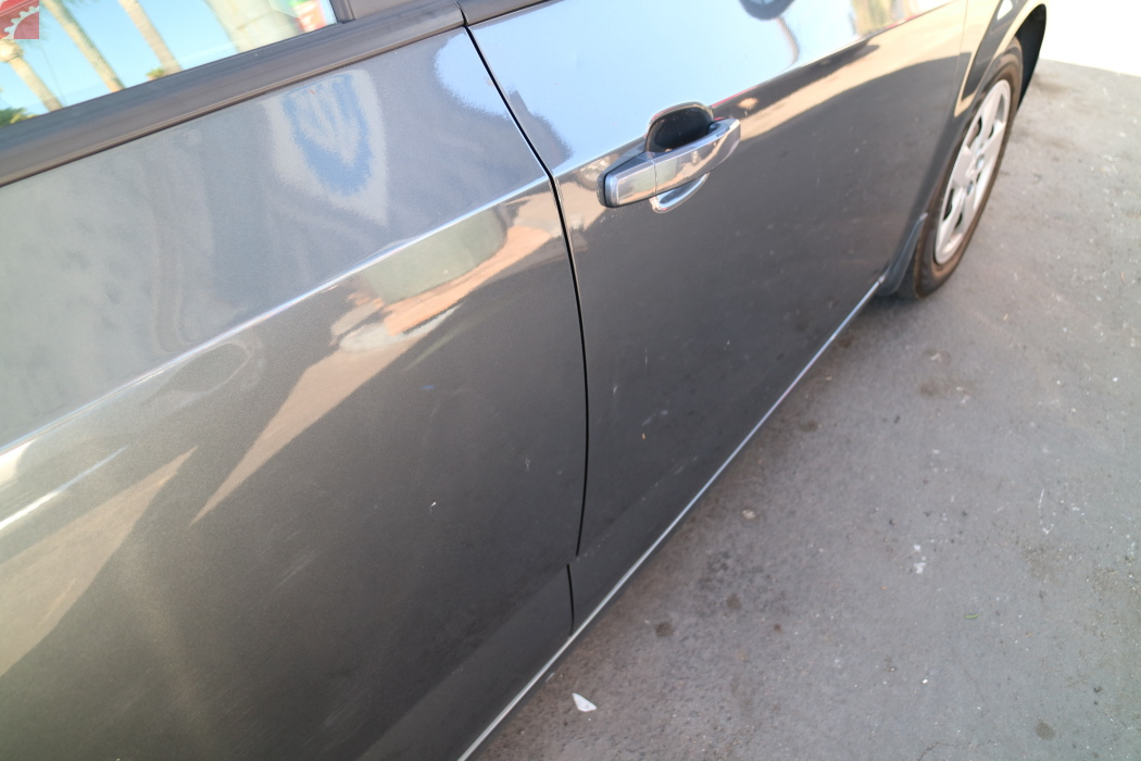 RIGHT FRONT AND REAR DOORS DENTED