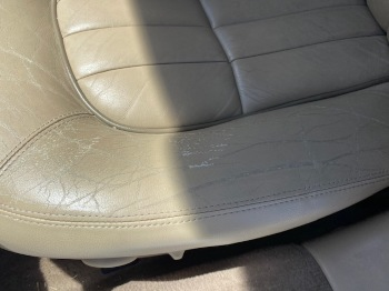 SEAT LEATHER CRACKING