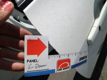 PAINT CHIP RIGHT FRONT DOOR