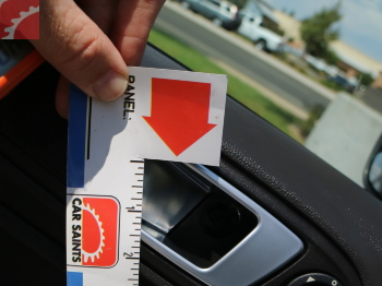 TRIM CAP MISSING ON DRIVER DOOR RELEASE