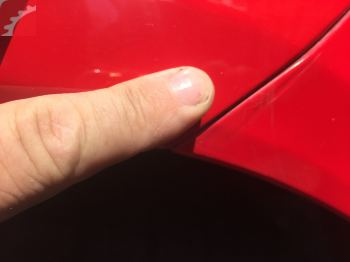 FENDER PAINT ISSUE