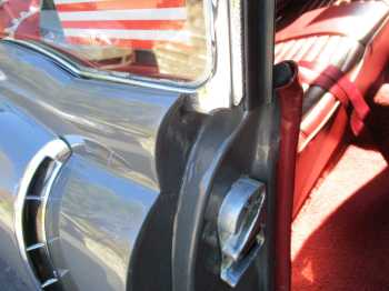 CHROME WINDOW TRIM PITTED