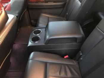 Rear Seats and Center Console - Left Side