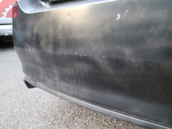 REAR BUMPER PAINT POOR CONDITION