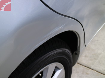 RIGHT 1/4 PANEL LARGE DENT