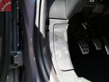 DRIVER FOOTWELL PANEL LOOSE