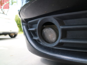 RIGHT FOG LAMP LOOSE